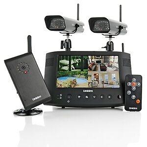 Uniden-UDW20553-Wireless-Color-Video-Security-Surveillance-System-w-3-Cameras