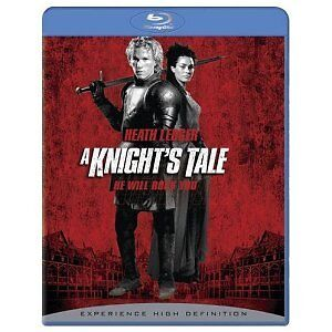 A KNIGHT'S TALE (NEW & SEALED BLURAY) HEATH LEDGER