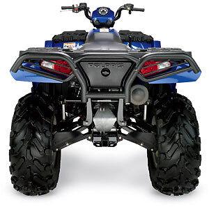New-2005-2010-Polaris-Sportsman-500-600-700-800-ATV-Moose-Rear-Bumper