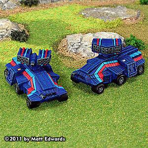 Battletech Mini: Bolla Stealth Tank