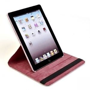 Hot pink or red or blue iPad air rotating 360 degree case Edmonton Edmonton Area image 2