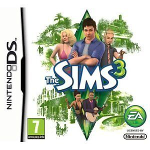 The Sims 3 for Nintendo DS NDS Lite DSi XL (Brand New)