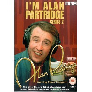 Alan Partridge (I'm) - Series 2 (R4 DVD) New / Sealed