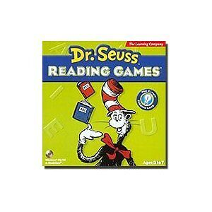 Dr. Seuss Reading Games By Learning Comapny
