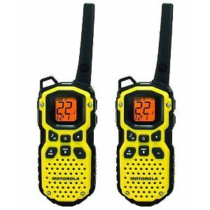 Motorola MS350R 35-Mile Talkabout Waterproof 2-Way Radio Pair Walkie Talkies NEW