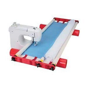 John Flynn Multi frame Machine Quilting System For Most Sewing Machines