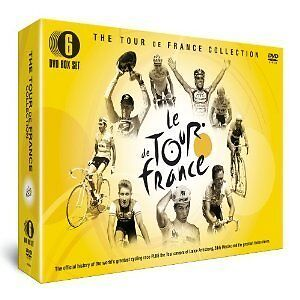 LE TOUR DE FRANCE - 6 DVD BOX SET COLLECTION - EDDY MERCKX, ITALIAN & MORE
