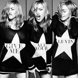 MADONNA - GIVE ME ALL YOUR LUVIN   (CD SINGLE)