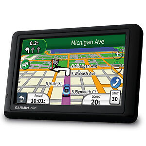 GARMIN-NUVI-1490LMT-5-GPS-NAVIGATION-w-Lifetime-Map-and-traffic-updates