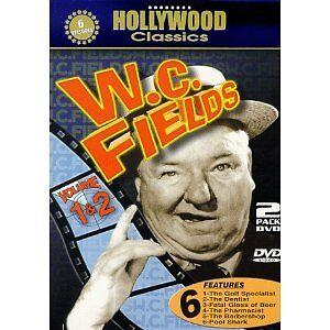 W.C. Fields Comedy DVD sets (NEW)