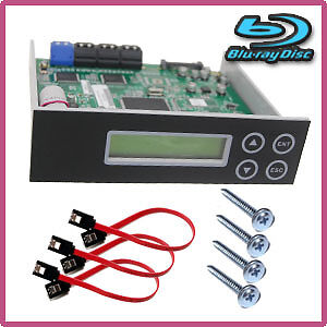 1-7 CD DVD BD Blu-ray SATA Burner Duplicator System Copier CONTROLLER