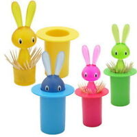 Rabbit Toothpick Holder - Green Only
