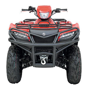 new 2006 2013 suzuki king quad 450 500 700 750 atv moose front bumper. Black Bedroom Furniture Sets. Home Design Ideas
