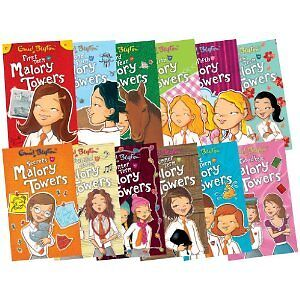 Enid Blyton Complete Malory Towers Collection 12 Books Set Children pack bundle