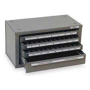 Huot Counterbore (sizes 4 To 1/2) Dispenser Organizer Cabinet - 13570