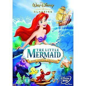 DISNEY THE LITTLE MERMAID 2 DISC SPECIAL EDITION REGION 2 **NEW & SEALED**