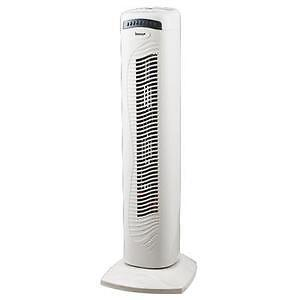 Igenix Oscillating White Tower Cooling Fan with Remote Control DF2950