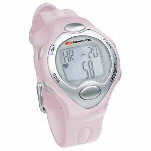 BOWFLEX-CLASSIC-10S-PINK-STRAPLESS-HEART-RATE-MONITOR-WATCH-W-CALORIE-COUNTER