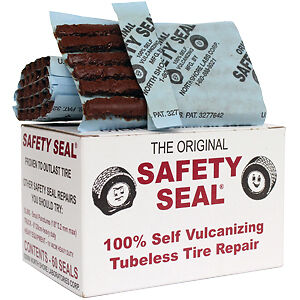 Safety Seal Tire Plugs, 60 p