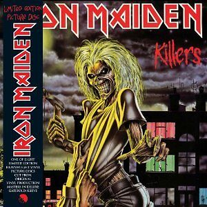 IRON MAIDEN 'KILLERS' LIMITED EDITION HEAVYWEIGHT VINYL PICTURE DISC (2012)