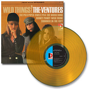THE VENTURES   WILD THINGS!  180G COLORED VINYL  LTD ED  SUNDAZED LP