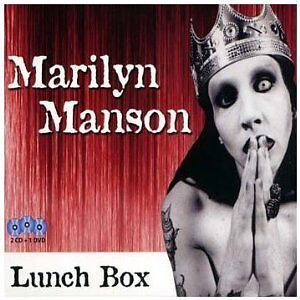 MARILYN MANSON - LUNCH BOX 2CD&DVD Set (NEW & SEALED) Goth Rock Metal Live