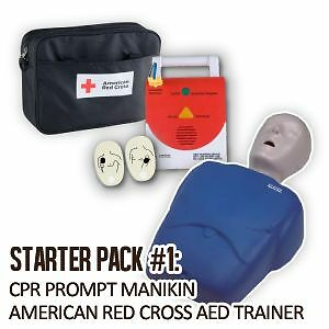 STARTER-INSTRUCTOR-PACK-CPR-Prompt-Manikin-American-Red-Cross-AED-Trainer