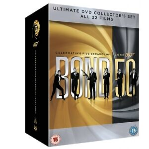 James Bond 007 - 22 Film Collection DVD Box Set