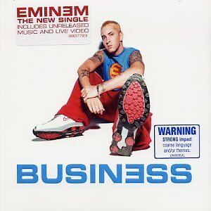 EMINEM  Business CD Single Enhanced NEW Rare Australian Pressing