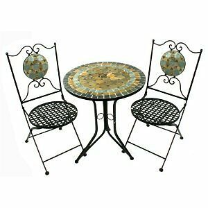 Marvells Desert Mosaic Bistro Table Set Table And 2
