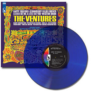 THE VENTURES   SUPER PSYCHEDELICS 180G   COLORED VINYL   LTD ED  SUNDAZED LP