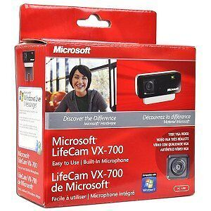 Y37-Brand-New-Microsoft-LifeCam-VX-700-VX700-2MP-Webcam-Web-Cam-w-Mic-Microphone