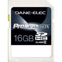 Dane-Elec 16GB SDHC Class 6 150X Pro (SD CARD) NEW