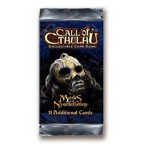 Call of Cthulhu CCG - Masks of Nyarlathotep Booster Pack *BNIP*