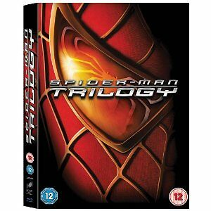 Spider-Man Trilogy (Blu-ray Disc, 2012, 3-Disc Set)