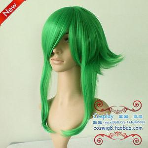 Cartoon-Vocaloid-GUMI-cosplay-heat-resistant-wig-wigs-weaving-cap