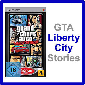 GTA LIBERTY CITY STORIES - PSP Spiel - NEU & OVP - Grand Theft Auto - Deutsch