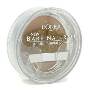 L'OREAL BARE NATURALE GENTLE MINERAL POWDER **MULTIPLE SHADES & QUANTITIES