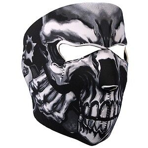 Motorcycle Biker Neoprene Skull Face Mask(4 Variations)