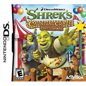 Shrek's Carnival Craze - DS / Lite - New & Sealed