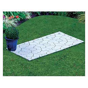 Instant patio interlocking 8 tile kit ideal for camping & Caravanning