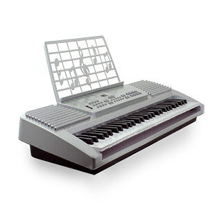 Buy electronic music - Silver 61 Key Electronic Music Keyboard Gift Electric Piano Organ 61