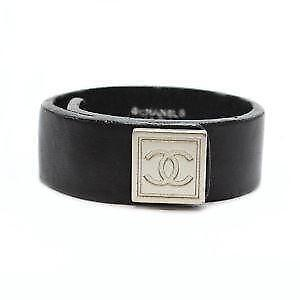Chanel Leather Bracelets