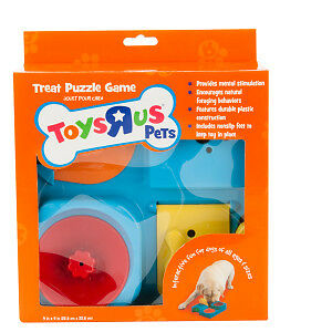 Toys R Us Treat Puzzle Game for Dogs or Puppies