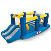 Little Tikes Obstacle Course Inflatable Bounce House.