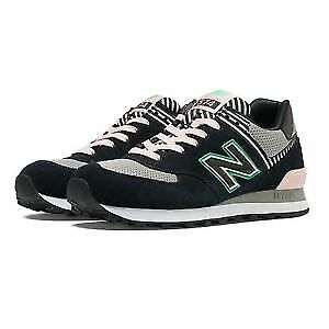 New balance US 8.5  WL574BFK  black  and pink Shoes