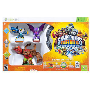 Skylanders Giants for XBOX 360 + 03 Characters