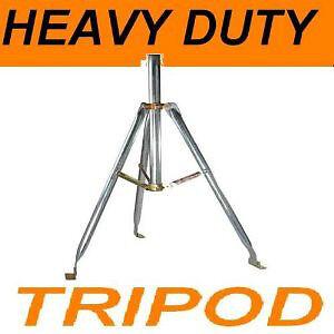 HEAVY DUTY METAL 3FT TRIPOD SATELLITE OR ANTENNA