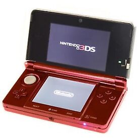 Red Nintendo 3DS x2