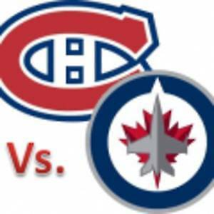 (2X2) BILLET TICKET CANADIENS WINNIPEG CENTER 302A 303A GRIS